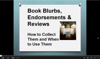 Book Blurbs, Endorsements and Reviews